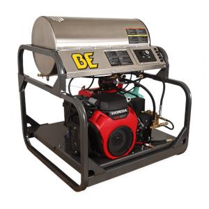 Hidrolavadora autónoma agua caliente